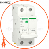 Автоматический выключатель RESI9 6kA 2P 20A C