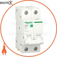 Автоматический выключатель RESI9 6kA 2P 25A C