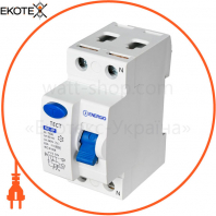 Устройство защитного отключения ENERGIO RE 2P 16А 30мА тип AC