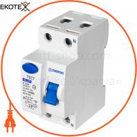 Устройство защитного отключения ENERGIO RE 2P 63А 30мА тип AC