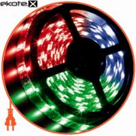 LED 3528, 60 диодов/м, 10м,RGB IP20, 12V