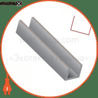 ПВХ прозрачный пластиковый профиль для укладки дюралайта, длина 2 м