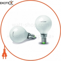 Лампа галогенная Шар E14 42W 230V frosted