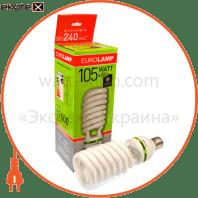 т5 spiral 105w 4100k e40 энергосберегающие лампы eurolamp Eurolamp SL-00404