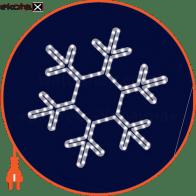 Световая конструкция Снежинка, размер 0,45*0,45м
