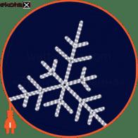 Световая конструкция Снежинка, размер 0,85*1,0м