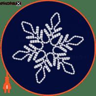 Световая конструкция Снежинка, размер 1,1*0,96м