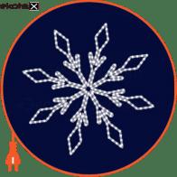 Световая конструкция Снежинка, размер 1,1*1,1м
