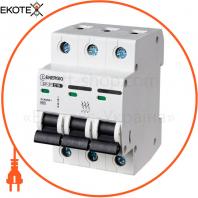 Модульный автоматический выключатель ENERGIO SP-3P C 20А 6кА