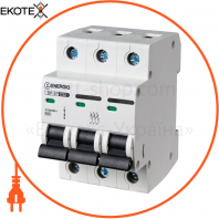 Модульный автоматический выключатель ENERGIO SP-3P C 32А 6кА