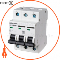 Модульный автоматический выключатель ENERGIO SP-3P C 50А 6кА