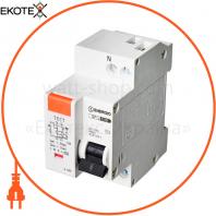 Дифференциальный автоматический выключатель ENERGIO SP-L 1P+N C 10А 4.5кА