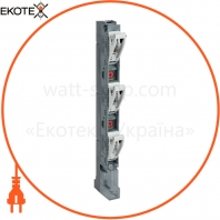 Предохранитель-выключатель-разъединитель ПВР-1 вертикальный 160А 185мм с пофазным отключением IEK