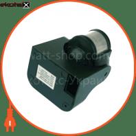 euroelectric датчик руху «куля new» чорний (50)