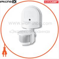 """EUROELECTRIC Датчик руху """"Гачок"""" на стіну 180`, макс.12 м, IP44, (50)"""