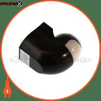 euroelectric датчик руху «куб модерн» чорний (50)