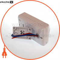 """euroelectric датчик руху """"tv"""" на стіну 180`, макс.12 м, ip44, (100)"""