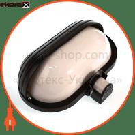 датчик руху «плафон» чорний датчики движения euroelectric Eurolamp ST-69 BLACK