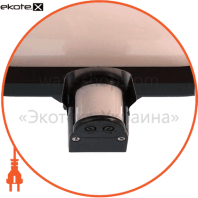 euroelectric датчик руху «плафон» чорний (10)