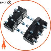 Панель втычная ПМм1-800е c задним резьбовым присоединением для ВА88-32 MASTER с электронным расцепителем IEK