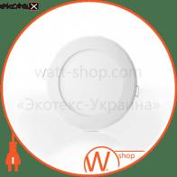 Світильник точковий врізний ЕВРОСВЕТ 18Вт коло LED-R-225-18 6400К