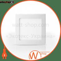 Світильник точковий врізний ЕВРОСВЕТ 12Вт квадрат LED-S-170-12 6400К