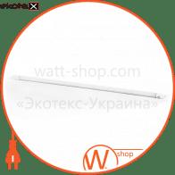 Лампа світлодіодна трубчаcта L-1200-6400-13 T8 18Вт 6400K G13220-240В СКЛЯНА