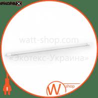 Лампа світлодіодна трубчаcта L-600-4000-13 T8 9Вт 4000K G13220-240В СКЛЯНА
