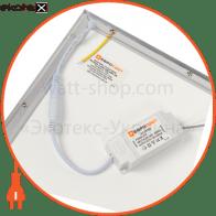 светильник panel led-sh-600-20 595*595*9мм 2300лм 4000к 32вт светодиодные светильники евросвет Евросвет 39320