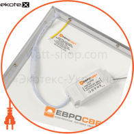світильник panel led-sh-600-20 595*595*9мм 3000лм 4000к 36вт светодиодные светильники евросвет Евросвет 39524