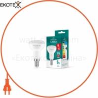 LED лампа TITANUM R50 6W E14 4100K 220V