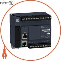 Компактный Базовый блок M221-24IO транзист источник Ethernet