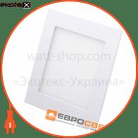 Світильник точковий врізний ЕВРОСВЕТ 12Вт квадрат LED-S-170-12 4200К