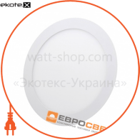 Світильник точковий врізний ЕВРОСВЕТ 24Вт коло LED-R-300-24 4200К