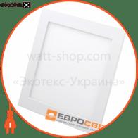Світильник точковий врізний ЕВРОСВЕТ 9Вт квадрат LED-S-150-9 4200К