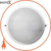 Светильник НПП-65 круг белый опал.ПП-1001-07-0 / 6 LED-12w