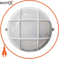 Светильник НПП-65 круг белый опал.ПП-1051-07-1 / 6 LED-12w