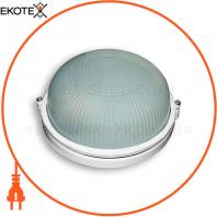 Светильник 60w круг влагозащищенный белый
