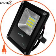 Прожектор светодиодный UА LED10-600 / 6500 / NISчорний