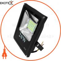 Прожектор светодиодный UА LED20-1400 / 6500 / NISчорний