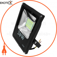 Прожектор светодиодный UА LED20-2000 / 6500 / ИС черный