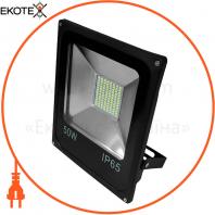 Прожектор светодиодный UА LED50-5000 / 6500 / IСчорний