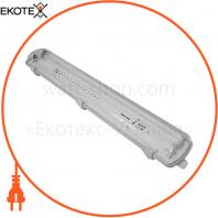 Светильник LED IP65 2 * 600 с тонким отражателем