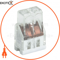 Будівельно-монтажна клема СМК 772-202 (4 шт / упак) IEK