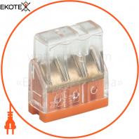Будівельно-монтажна клема СМК 772-203 (4 шт / упак) IEK