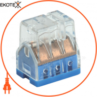 Будівельно-монтажна клема СМК 772-206 (4 шт / упак) IEK