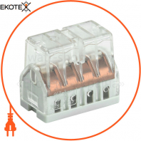 Будівельно-монтажна клема СМК 772-208 (4 шт / упак) IEK