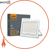 LED прожектор VIDEX 100W 5000K 220V