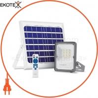 LED прожектор автономный VIDEX 10W 5000K Сенсорный
