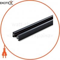 Шинопровод для крепления и питания трековых светильников VIDEX VL-TRF003-B черный